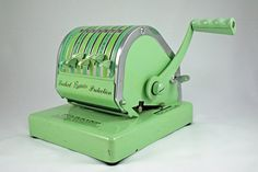Mint Green Paymaster Check Writer