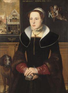 Portrait of Jacquemyne Buuck  1551  Pieter Pourbus