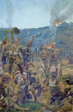 """Canadian Military - The Boer War  1899  """"Those men can go into battle without a leader. They have intelligence  and resourcefulness enough to lead themselves"""",  -British General, referring to Canadians at Paardesburg"""