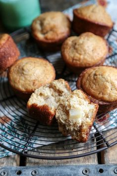 Cinnamon Pear Muffins - www.countrycleaver.com