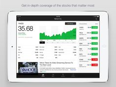 Real Time Stock Quotes Mesmerizing Yahoo Finance  Real Time Stocks Market Quotes Business And . Design Ideas