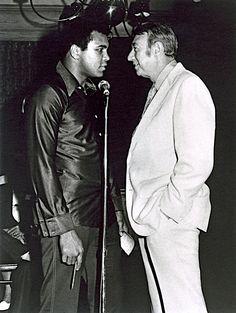 Muhammad Ali and Howard Cosell