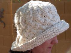 Paddington, Vintage Style Rolled Brim Hat
