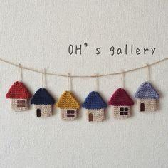 Kawaii Crochet, Cute Crochet, Beautiful Crochet, Crochet Bunting, Crochet Flowers, Crochet Home, Crochet Gifts, Crochet Jewelry Patterns, Crochet Keychain