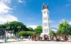 Clock towers of the world : Clock towers in farther flung destinations bear subtle influences of local architectural styles, such as this one in Bukittinggi, Indonesia, which has a distinct south-Asian flavour.