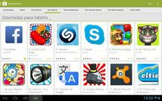 """Los propietarios de tablets Android ahora podremos disfrutar de nuestra sección especial de """"Aplicaciones para tablets"""" en Google Play (completamente separada de las de teléfonos). Bien!!! Sigue el enlace y entérate de todo.#tablet #android #tecnología #googleplay"""