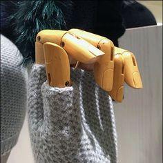 Fingerless Winter Glove Handforms