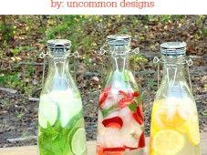Flavored Water Recipes - Uncommon Designs