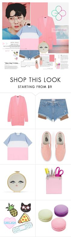 """""""Four leaf clover"""" by rainie-minnie ❤ liked on Polyvore featuring J.Crew, Vans, Forever 21 and Ladurée"""