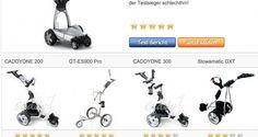 Vergleichstabelle unserer Testsieger – Elektro Golf Trolley › Golftrolley elektrisch