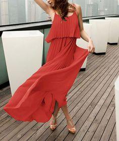 Mod Maxi Beach Strap Dress