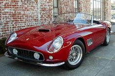 Bound to be a classic, the Ferrari California. V8 with a retractable hard top. Very sharp.