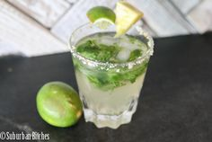 Coconut mojitos with Coconut Water! + Mint, Lime, Agave, and Coconut vodka