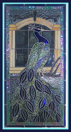 Peacock Stained Glass tjn