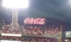 Fenway enjoy coca cola