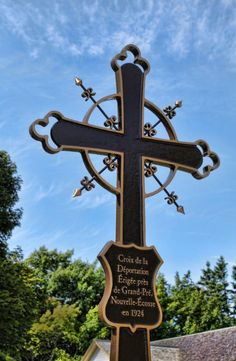 Acadian Deportation Cross
