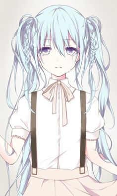 Is this Miku? I'm guessing so.. anyway, tne pastel colours look super cute