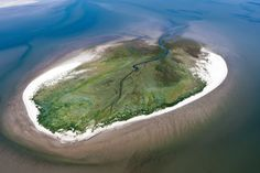 Rottumeroog, The Netherlands Aerial Photography, Amazing Nature, Continents, Garden Inspiration, Netherlands, Holland, Earth, City, Places