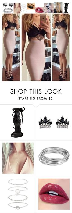 """""""Bella Blackthorn-Party Outfit #3"""" by msmarvel70 ❤ liked on Polyvore featuring Schutz, Fallon, Worthington and Accessorize"""
