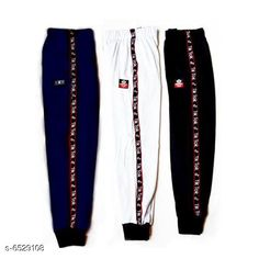 Trackpants & Joggers Boys & Girls Track Pant (Pack of 3) Fabric: Cotton Pattern: Printed Multipack: 3 Sizes:  4-5 Years (Waist Size: 24 in Hip Size: 9 in)  5-6 Years (Waist Size: 26 in Hip Size: 9 in)  10-11 Years (Waist Size: 32 in Hip Size: 9 in)  11-12 Years (Waist Size: 34 in Hip Size: 9 in)  8-9 Years (Waist Size: 30 in Hip Size: 9 in)  6-7 Years (Waist Size: 28 in Hip Size: 9 in)  7-8 Years (Waist Size: 30 in Hip Size: 9 in)  9-10 Years (Waist Size: 32 in Hip Size: 9 in) Country of Origin: India Sizes Available: 4-5 Years, 5-6 Years, 6-7 Years, 7-8 Years, 8-9 Years, 9-10 Years, 10-11 Years, 11-12 Years, 12-13 Years   Catalog Rating: ★4.1 (1929)  Catalog Name: Princess Fancy Kids Boys Trackpants CatalogID_1040195 C59-SC1186 Code: 145-6529108-1341