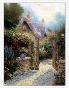 Thomas Kinkade Painting 112.jpg