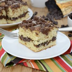 Coffee Lover's Chocolate Chip Coffee Cake