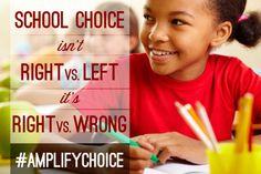 If you like school choice, please share!