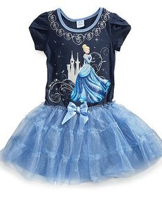Little Girls Cinderella Tutu Dress
