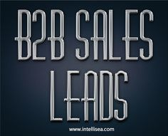 Browse this site http://www.intellisea.com/services-b2b-lead-generation/ for more information on B2b sales leads. There are many companies that have successful marketing and sales strategies that generate a high volume of quality B2b sales leads resulting in productive sales teams.  B2B leads you are receiving are exclusive only to your company or shared with others possibly including your competitors. Follow us : https://www.clippings.me/webdesignservices