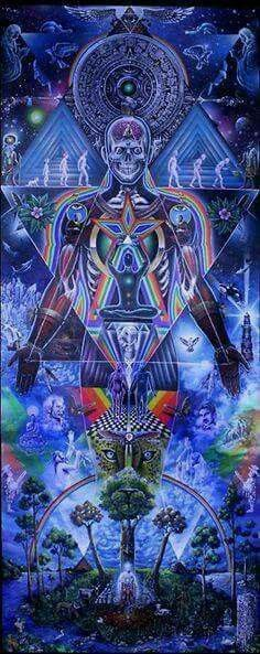 Art by Alex Grey. (Shared from Facebook).