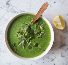 Cleansing Green Soup