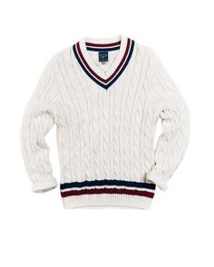 The Young Man's Guide To Tennis Sweaters - Ivy Style Cotton Sweater, Men Sweater, Ivy Style, Tennis Fashion, Wool Vest, Light Jacket, Gentleman Style, Preppy Style, Sweaters