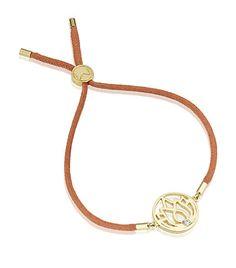 Gold Lotus friendship bracelet - Melissa Odabash
