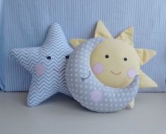 20 Super Cute Kids Pillow Ideas For Nursery Room Decorating kid room decor Sewing Toys, Baby Sewing, Sewing Crafts, Sewing Projects, Cute Pillows, Baby Pillows, Kids Pillows, Diy Lacing Cards, Pillow Texture