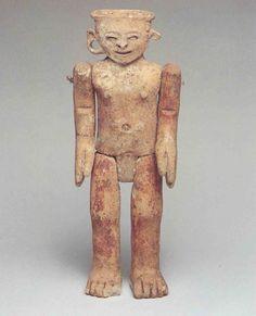 Figurilla articulable del entierro 35 de Mayapan