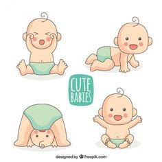 Cute cartoon baby artes grficas pinterest cartoon babies and seleo de beb desenhado mo com tecido azul baby cartoonclipart voltagebd Image collections