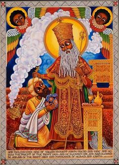 Third Eye Color Therapy / Abba Yahudah Home Page Haile Selassie, Religious Paintings, Religious Art, African Culture, African Art, Rastafari Art, Holly Pictures, Horn Of Africa, Tarot
