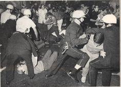 The Democratic National Convention opens in Chicago. In the days that follow, thousands of demonstrators take to the streets to protest the Vietnam War. Violent clashes occur between protesters and police. (LIFE December 6 - 1968)