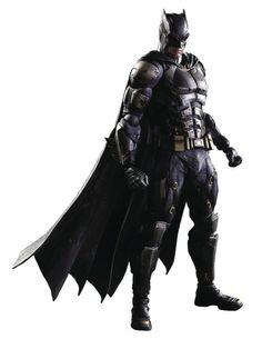 Batman Action Figure (Tactical Version) by Square Enix, DC Comics Justice League Variant Play Arts Kai, inches Kai, Dc Comics, Batman Suit, Superman, Dc Universe, Tactical Suit, Mundo Nerd, Justice League 2017, Batman Arkham Origins
