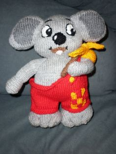 Blinky Bill is a mischievious koala from the by Marionsknittedtoys, $24.00