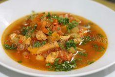 Cozinha sem drama: Sopa de legumes com frango