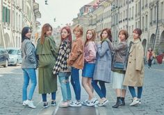 "TWICE - Twice in Switzerland ""© saprowling Group Pictures, Bts Pictures, Kpop Girl Groups, Kpop Girls, Kpop Fashion, Korean Fashion, Dream Note, Kpop Girl Bands, Twice Group"