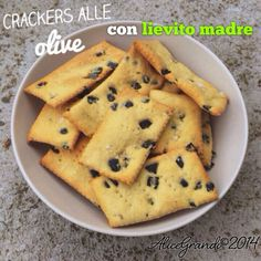 crackers olive pasta madre sourdough olives