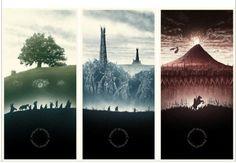 El señor de los anillos Poster decoración del hogar etiqueta de la pared de impresión con estilo Retro decoración niza Poster 50 x 75 cm envío gratis KO / 366063