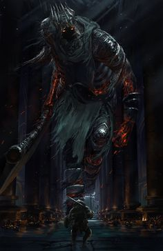 Dark souls 3 - Yhorm by Ishutani on DeviantArt