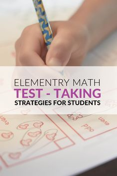 Discover math test-taking strategies and resources for elementary students. FREE printables for Math Multiple-Choice Test-Taking Strategies, Math Multiple-Response Items, Constructed (Open) Response Item Strategies, Managing Test Anxiety Test Taking Strategies, Test Anxiety, Math Test, Free Math, Math Resources, No Response, Students, Kit, This Or That Questions