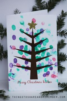 22 Ideas Diy Christmas Cards For Teachers Kids Crafts Christmas Card For Teacher, Christmas Cards Handmade Kids, Christmas Gifts For Parents, Simple Christmas Cards, Christmas Card Crafts, Homemade Christmas Cards, Printable Christmas Cards, Christmas Cards To Make, Holiday Crafts