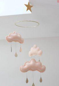 2016 Birbirinden Güzel Bebek Odası Sarkaç Süs Modelleri