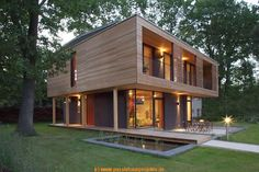 Passivhaus. Really clever house that keeps heat in