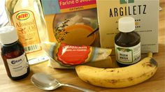 DIY: OATIFIX INSPIRED FRESH FACE MASK   - een halve geprakte banaan (supermarkt)  1 eetlepel gemalen amandelen (biologische supermarkt of 'normale' supermarkt)  1 eetlepel fijngemalen havermout (biologische of 'normale' supermarkt)  1 eetlepel kaolin (drogist, apotheek, biologische supermarkt)  2 theelepels glycerine (Etos of andere drogist, apotheek)  2 theelepels rozenwater (De Tuinen, Erica Kruiderij, toko, Turkse supermarkt)  2 theelepels amandelolie (Etos of andere drogist, Toko)